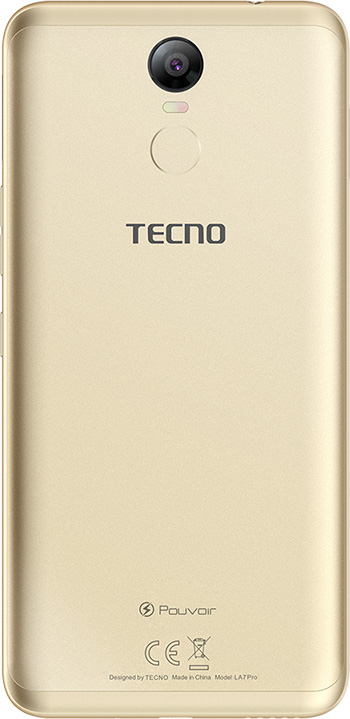 Смартфон Tecno Pouvoir 2 Pro 3/32GB (LA7 pro) DualSim Champagne Gold - фото 3.