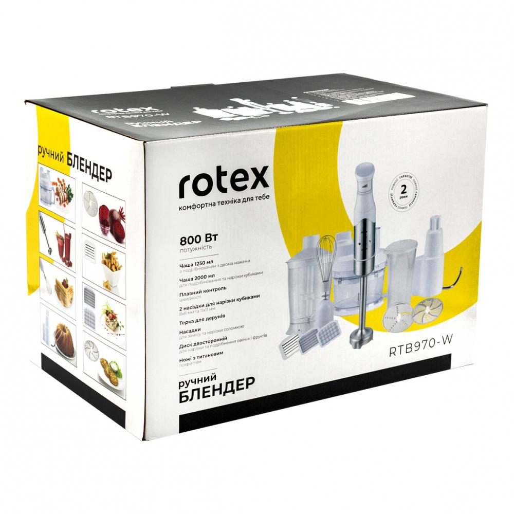 Блендер Rotex RTB970-W - фото 11.