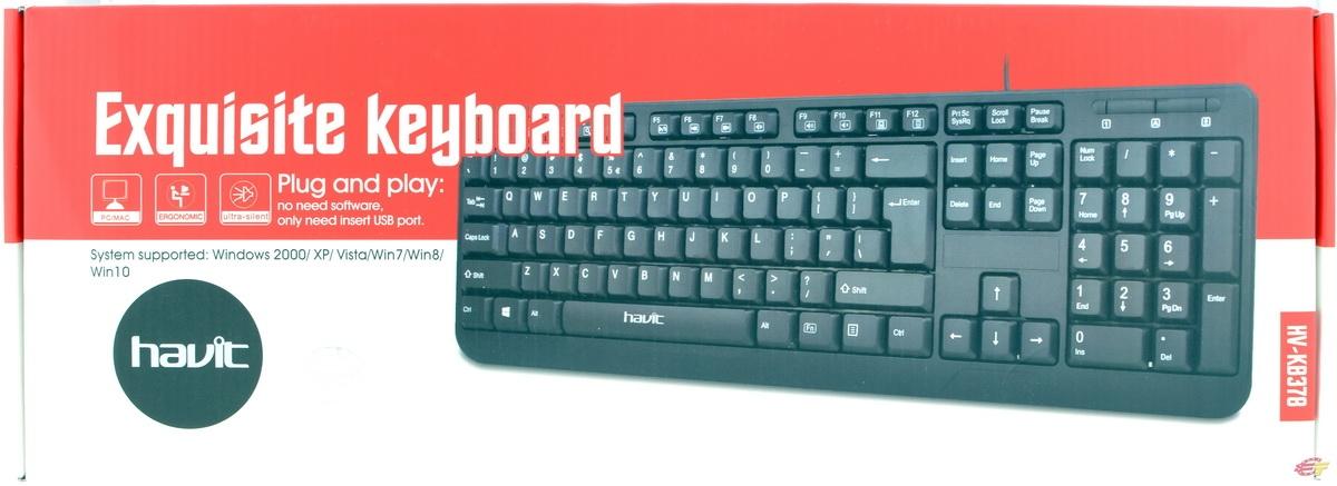 Клавіатура Havit HV-KB378 - фото 6.