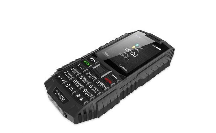 Мобільний телефон Sigma mobile X-treme DT68 Black - фото 6.