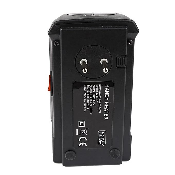 Портативний обігрівач Handy Heater 400 Вт - фото 3.