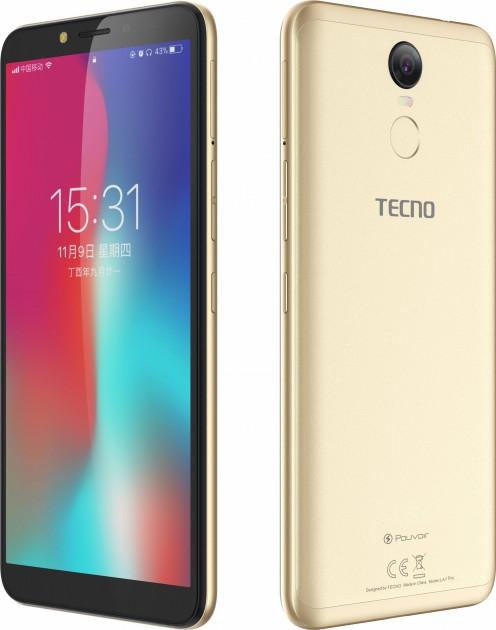 Смартфон Tecno Pouvoir 2 Pro (LA7 pro) Gold + подарунок - фото 3.