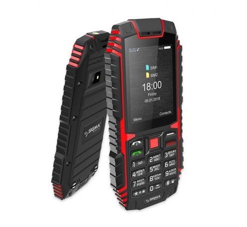 Мобільний телефон Sigma mobile X-treme DT68 Black-Red - фото 4.
