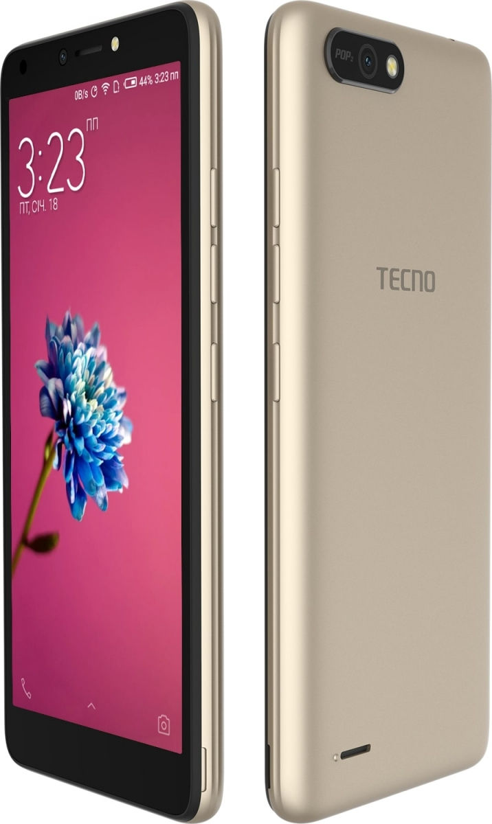 Смартфон Tecno POP 2 (B1) Dual Sim Champagne Gold + подарунок - фото 5.