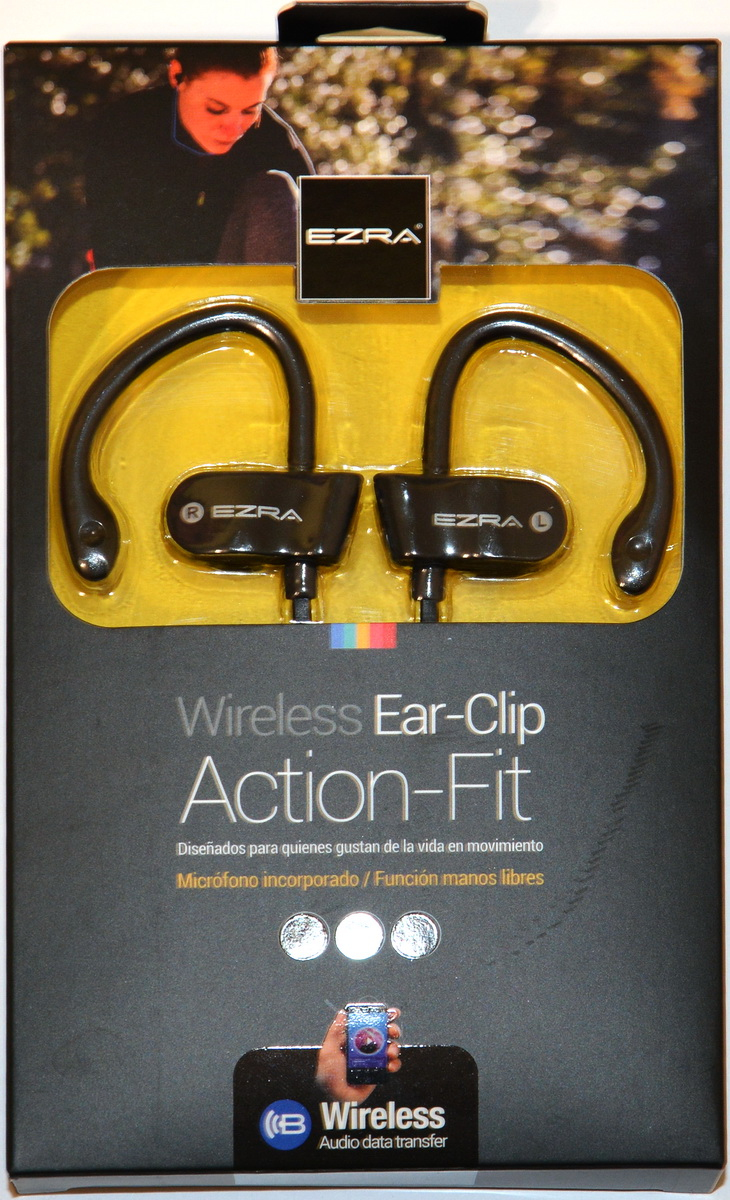 Наушники Ezra Wireless Ear-Clip Action-Fit EZ-4 - фото 4.