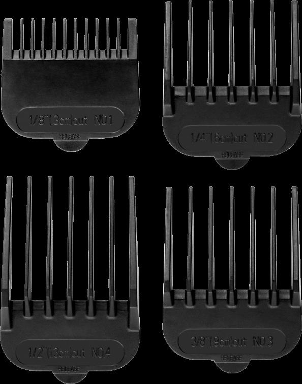 Машинка для стрижки ECG ZS 1020 Black - фото 5.