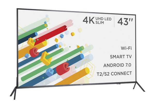 Smart телевізор Ergo LE43CU6530AK - фото 4.