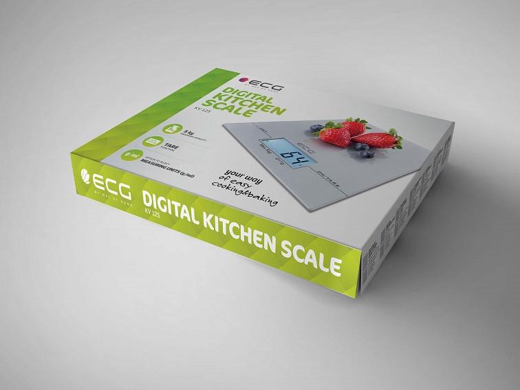 Вага кухонна ECG KV 125 - фото 4.
