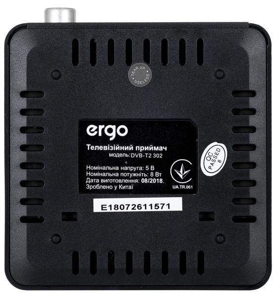 Ресивер Ergo DVB-T2 302 - фото 8.