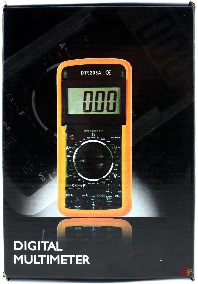 Мультиметр універсальний Digital DT9205A купити в інтернет-магазині ... 8c4b4d978c20f