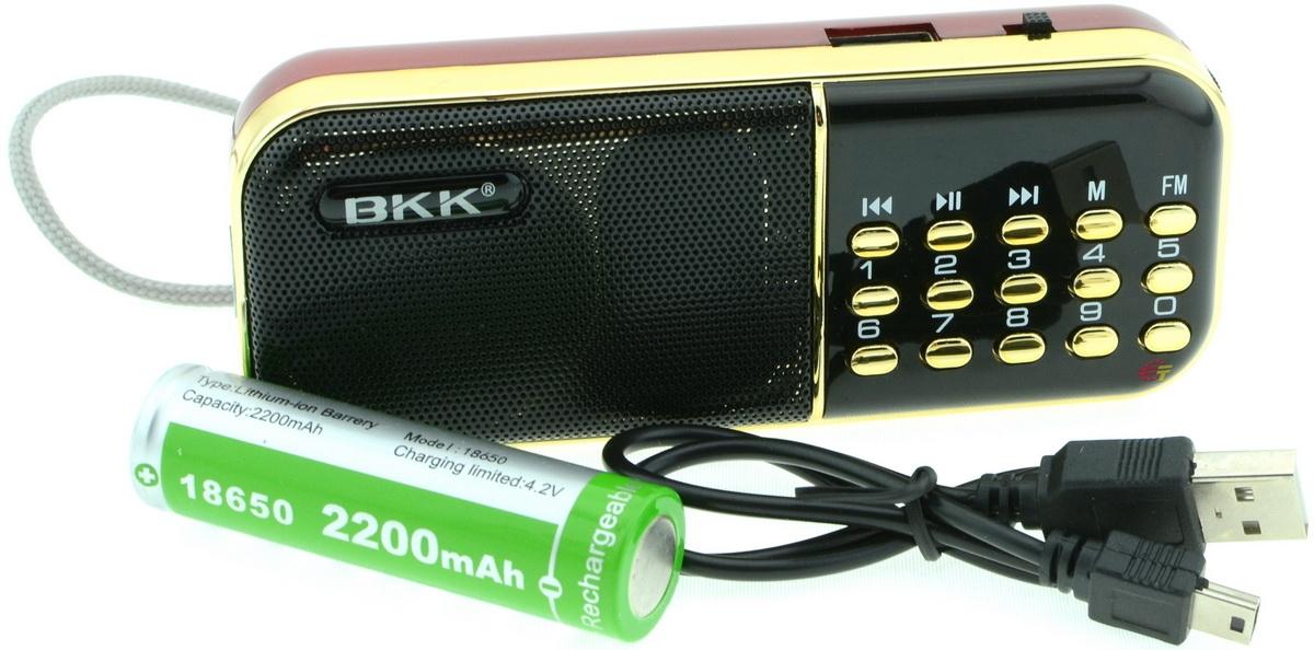 Радіо BKK B-837 - фото 3.