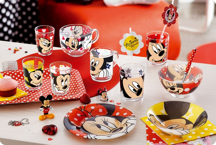 Набор детской посуды Luminarc Disney Oh Minnie H6446 - фото 3.