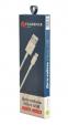 USB кабель Florence microUSB 1m 3A White (FL-2200-WM) - фото 3.
