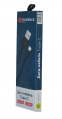 USB кабель Florence Type-C 1m 2A Black (FL-2110-KT) - фото 3.