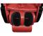 Масажне крісло ZENET ZET 1670 вишневий - фото 3.