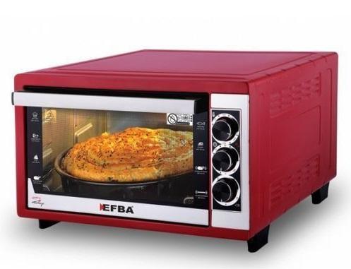 Піч електрична EFBA 5003T Red - фото 2.