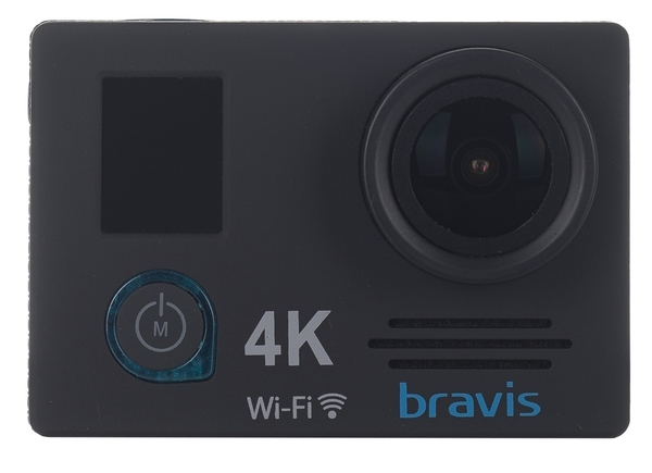 Экшн-камера Bravis А5 Black - фото 2.