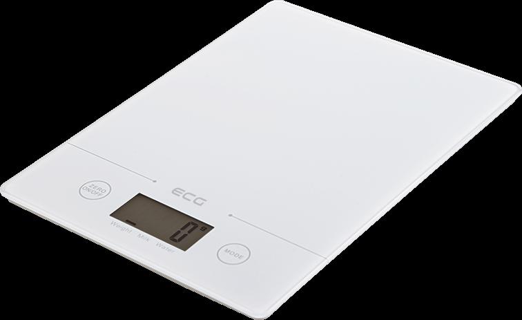 Вага кухонна ECG KV 117 Slim White - фото 2.