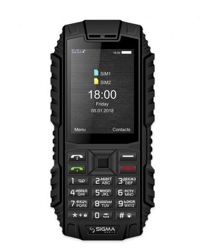 Мобільний телефон Sigma mobile X-treme DT68 Black - фото 2.