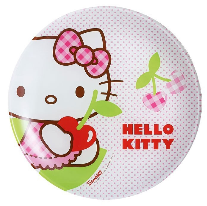 Тарелка Luminarc Hello Kitty Cherries J0023 - фото 2.
