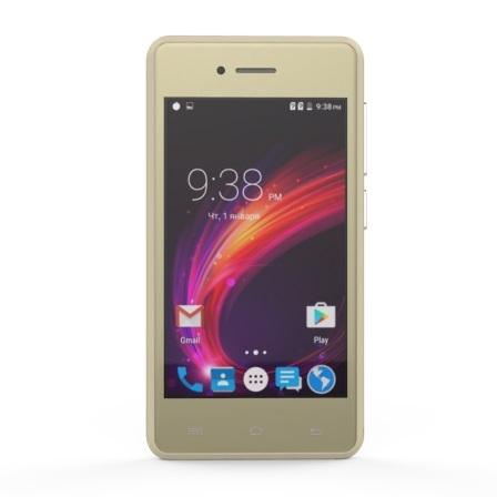 Смартфон S-Tell C256 Gold - фото 2.