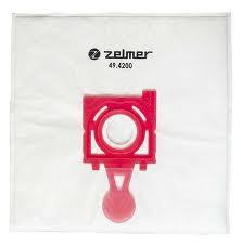Набор мешков Safbag с фильтром 4 +1 Zelmer 49.4200 - фото 2.