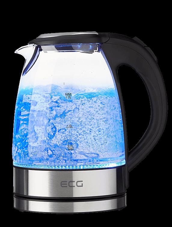 Чайник ECG RK 1776 Glass - фото 2.