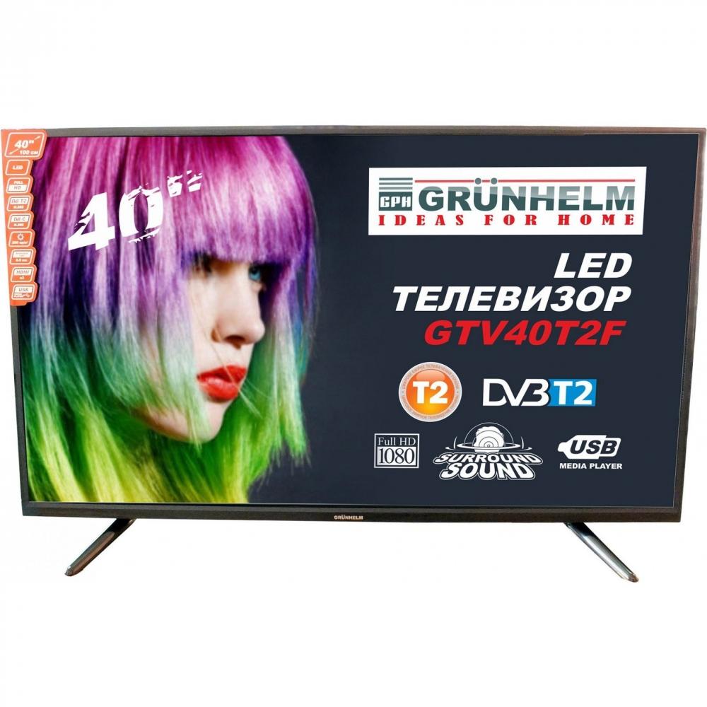 LED телевізор Grunhelm GTV40T2F - фото 2.