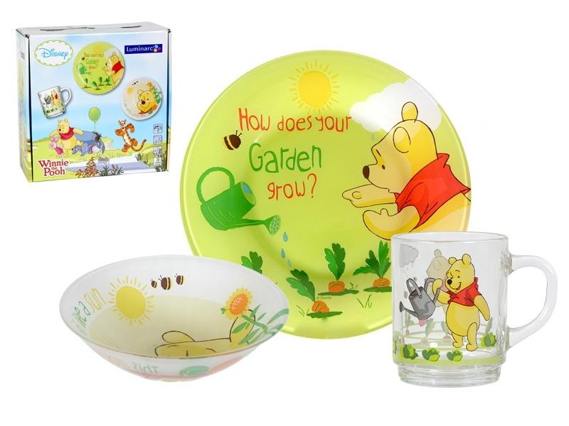 Набір дитячого посуду Luminarc Disney Winnie Garden H6435 - фото 2.