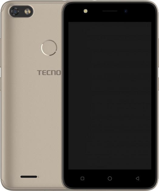 Смартфон Tecno F2 LTE Gold  - фото 2.