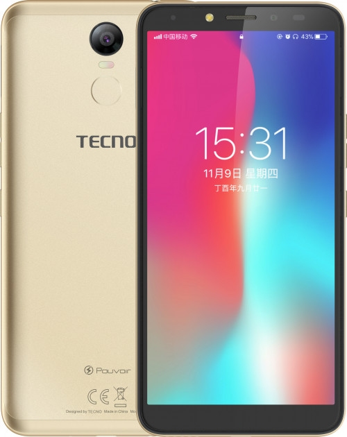 Смартфон Tecno Pouvoir 2 Pro (LA7 pro) Gold + подарунок - фото 2.