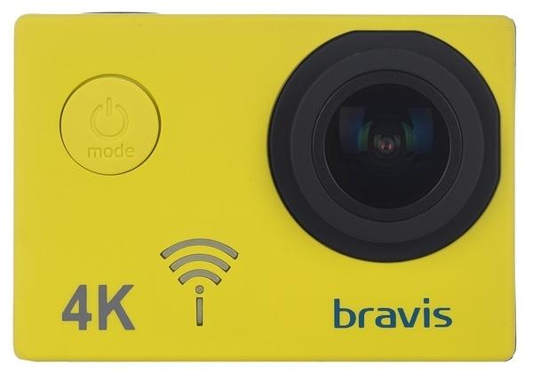 Экшн-камера Bravis А3 Yellow - фото 2.