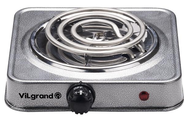 Електрична плитка Vilgrand VHP-131 Gray - фото 2.