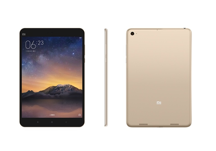 Планшет Xiaomi Mi Pad 2 Gold 16 Gb - фото 2.