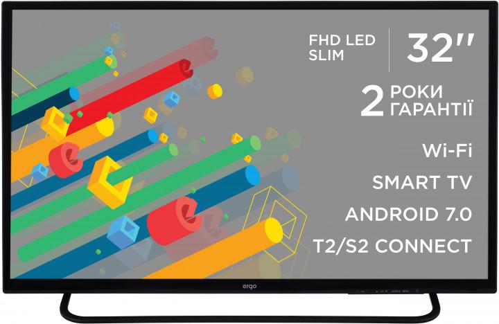 Smart телевізор Ergo LE32CT5550AK - фото 2.
