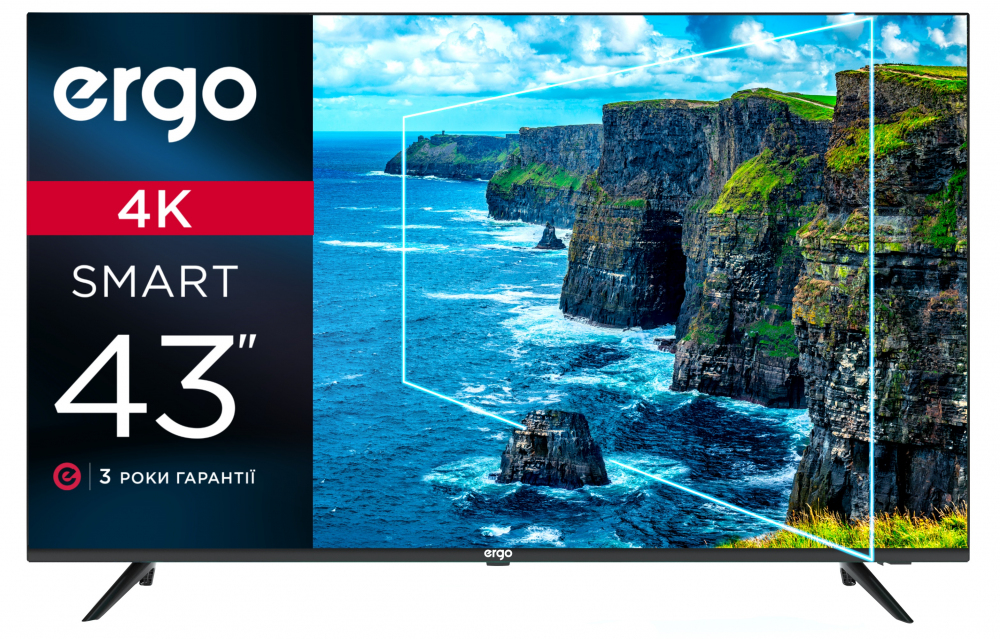 Smart телевізор Ergo 43DUS6000 - фото 2.