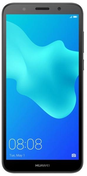 Смартфон Huawei Y5 2018 Black - фото 2.