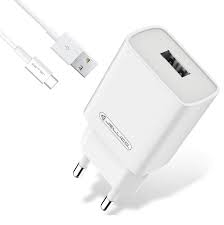 Зарядний пристрій Jellico AQC34 3A QC3.0 + microUSB cable quick charge White - фото 2.