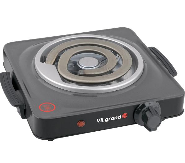 Електрична плитка Vilgrand VHP141D Gray - фото 2.