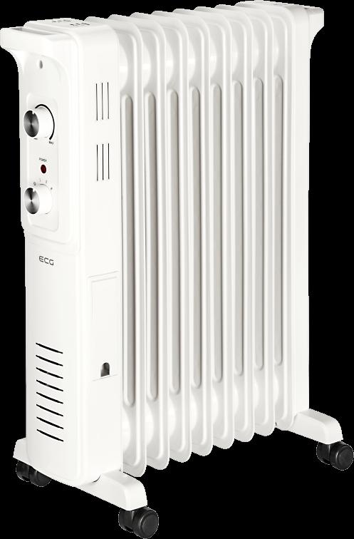 Масляный радиатор ECG OR 2090 - фото 2.
