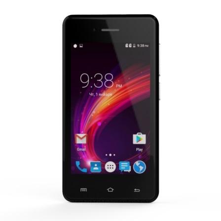 Смартфон S-Tell C256 Black - фото 2.