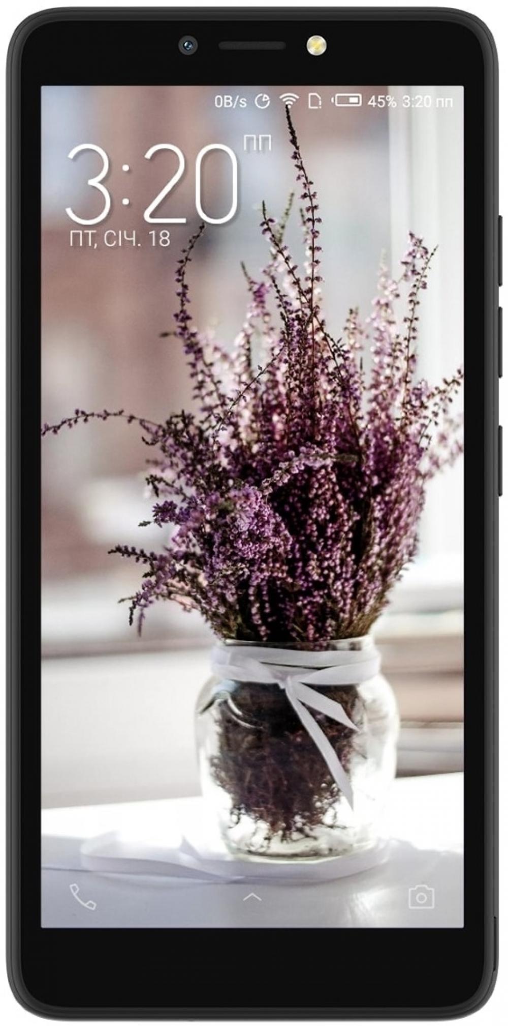 Смартфон Tecno POP 2 (B1) Dual Sim Midnight Black - фото 2.
