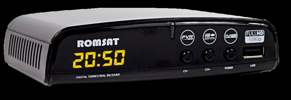 ТВ-ресивер DVB-T2 Romsat T2050+ - фото 2.