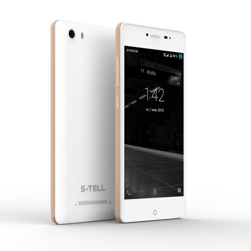 Смартфон S-Tell P790 Gold - фото 2.
