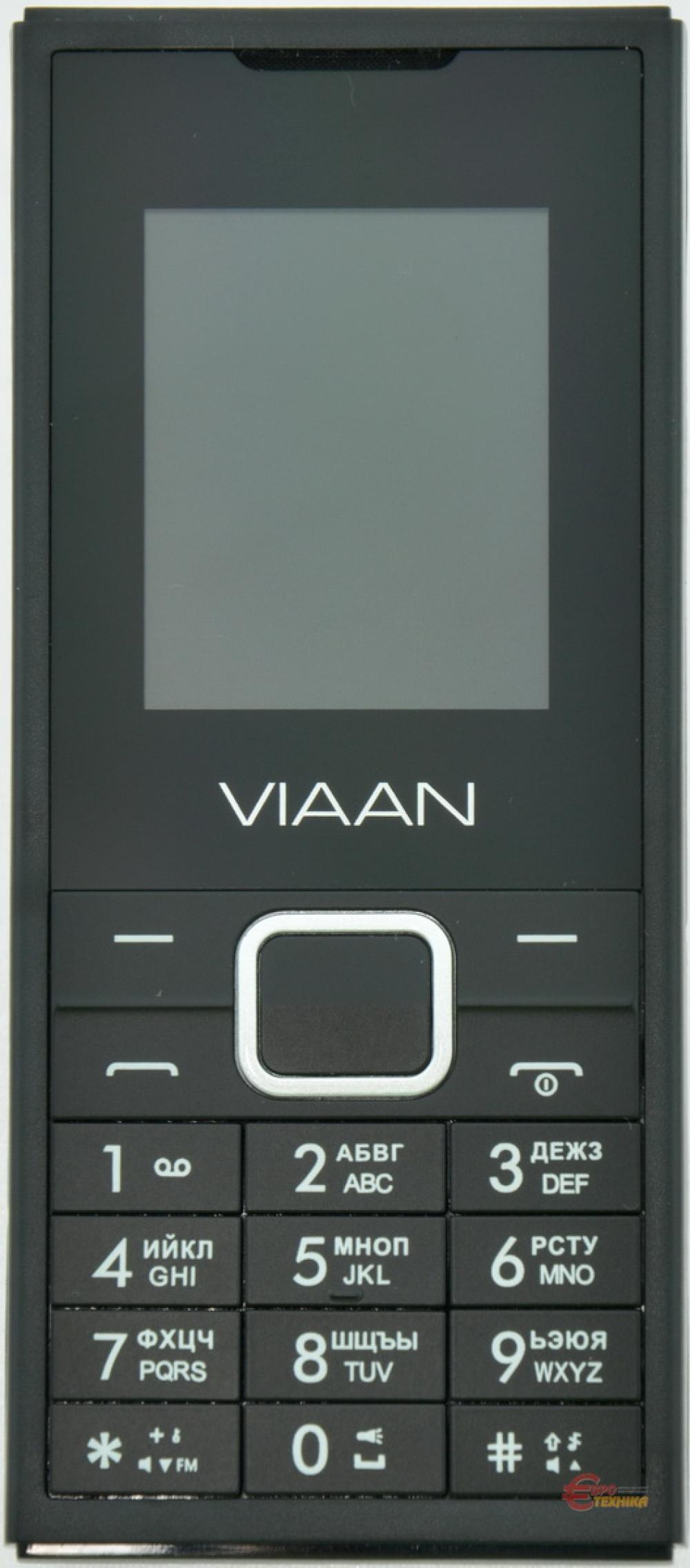 Мобільний телефон Viaan V181 Dual Sim Black - фото 2.