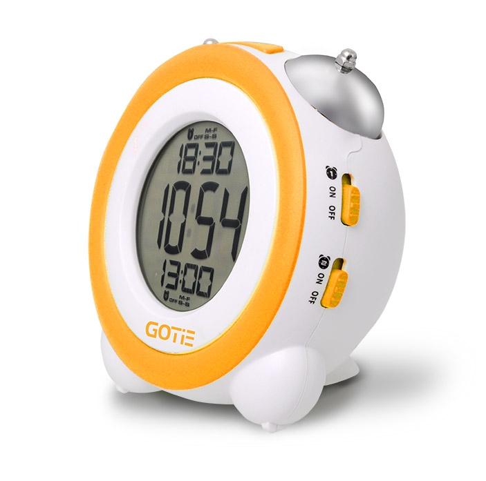 Електронний будильник GOTIE GBE-200Y жовтий купити в інтернет ... a05f7dbe2c7ed
