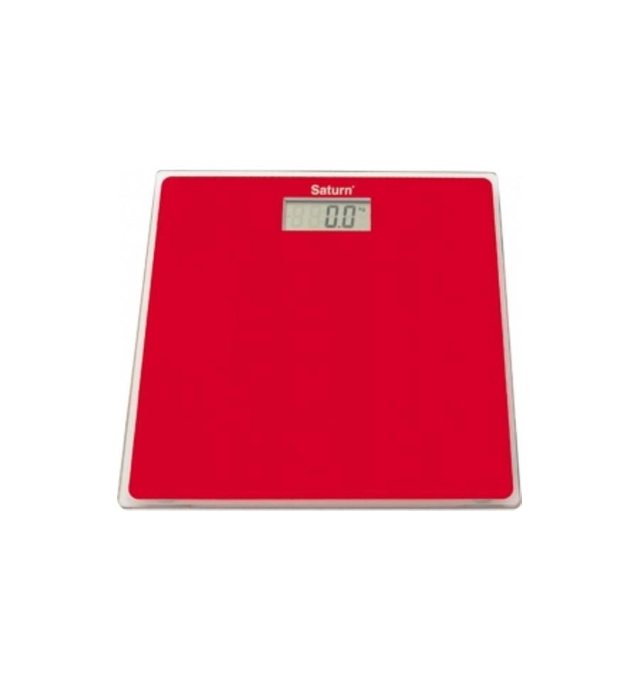 Весы напольные Saturn ST-PS1247 Red - фото 2.