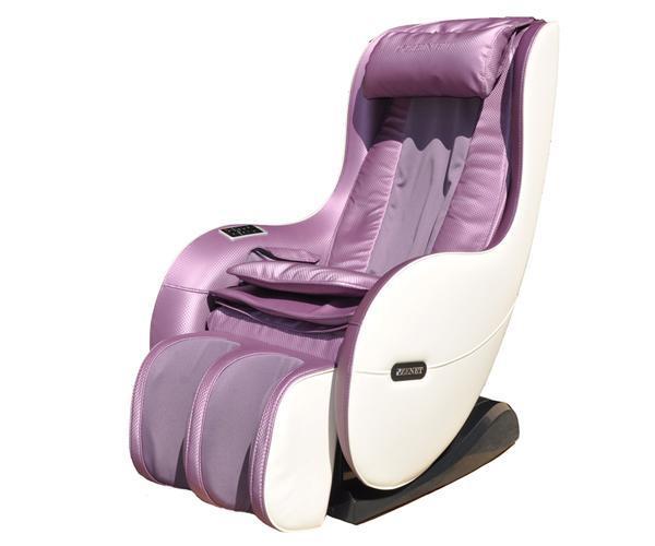 Масажне крісло ZENET ZET-1280 бузковий - фото 2.