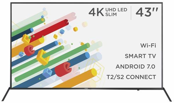 Smart телевізор Ergo LE43CU6530AK - фото 2.