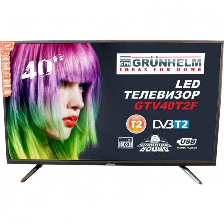 LED телевізор Grunhelm GTV40T2F